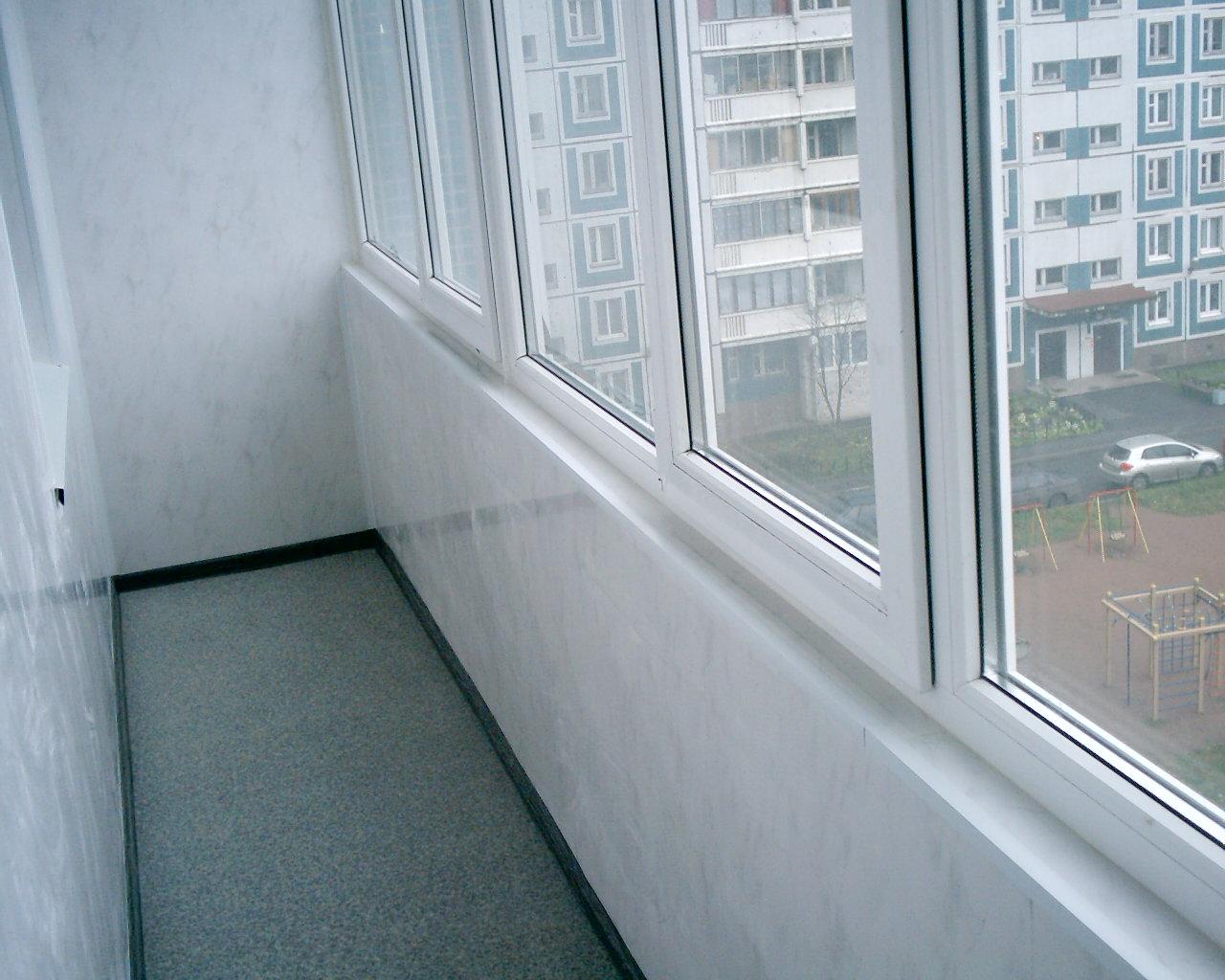 Отделка балкона панелями пвх. - наши работы - каталог статей.