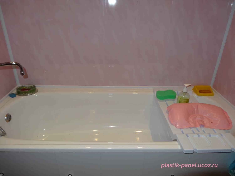 Отделка туалета стеновыми панелями фото 5